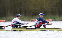 Caversham. Berkshire. UK<br /> GBR W2X. Bow Katherine GRAINGER and Victoria THORNLEY<br /> 2016 GBRowing European Team Announcement,  <br /> <br /> Wednesday  06/04/2016 <br /> <br /> [Mandatory Credit; Peter SPURRIER/Intersport-images]