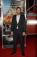 WESTWARD, CA - OCTOBER 8: Geoff Stults at the Only The Brave World Premiere at the Village Theater in Westwood, California on October 8, 2017. Credit: David Edwards/MediaPunch