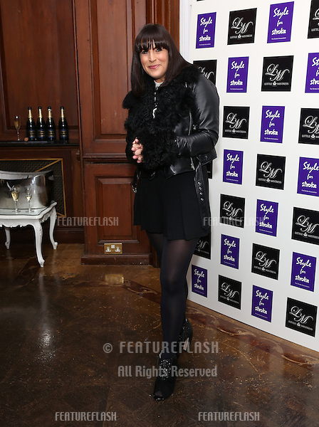 Anna Richardson arriving for the Style for Stroke Party, 5 Cavendish Square, London. 02/10/2012 Picture by: Henry Harris  / Featureflash