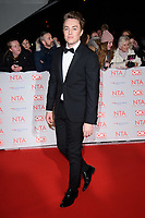 Ronan Kemp<br /> in the winners room for the National Television Awards 2018 at the O2 Arena, Greenwich, London<br /> <br /> <br /> ©Ash Knotek  D3371  23/01/2018