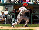 Chone Figgins of the Los Angeles Angels in action against the Chicago White Sox. ....Angels lost 4-5.....David Durochik / SportPics..