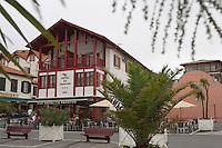 Europe/France/Aquitaine/64/Pyrénées-Atlantiques/Bidart : l'Hotel du Fronton
