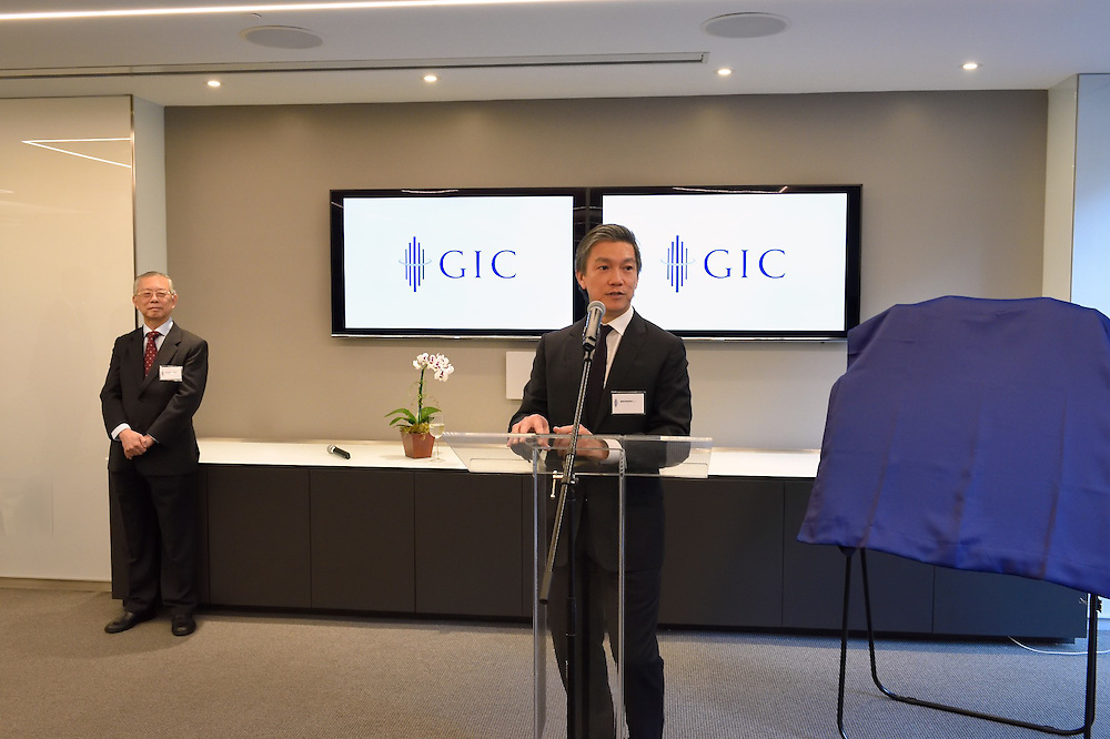 Remarks at a party celebrating the opening of the NY office of GIC Asset Management, the sovereign wealth fund of Singapore.