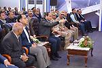 "Egyptian president Abdel Fattah al-Sisi inspects the bridge ""Long live Egypt"", Cairo, Egypt, on April 14, 2019. Photo by Egyptian President Office"