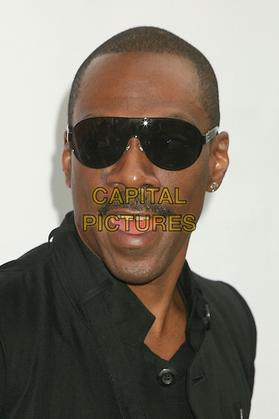 "EDDIE MURPHY .""Evan Almighty"" Los Angeles Premiere at Universal City Walk, Universal City, California, USA..June 10th, 2007.headshot portrait mustache facial hair sunglasses shades mouth open .CAP/ADM/BP.©Byron Purvis/AdMedia/Capital Pictures"