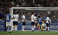 International friendly football match France vs Italy, Allianz Riviera, Nice, France, June 1, 2018. <br /> Italy's Captain Leonardo Bonucci celebrates after scoring during the international friendly football match between France and Italy at the Allianz Riviera in Nice on June 1, 2018.<br /> UPDATE IMAGES PRESS/Isabella Bonotto