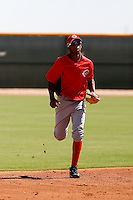 Yorman Rodriguez - Cincinnati Reds 2009 Instructional League. .Photo by:  Bill Mitchell/Four Seam Images..