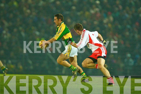 Declan O'Sullivan, Kerry v Tyrone, Allianz National Football League, Round 2, 16th February 2008 at Austin Stack Park, Tralee.   Copyright Kerry's Eye 2008