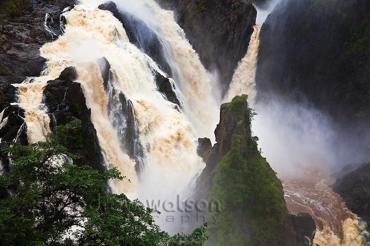 Barron Falls during the rainy season.  Kuranda, Cairns, Queensland, Australia