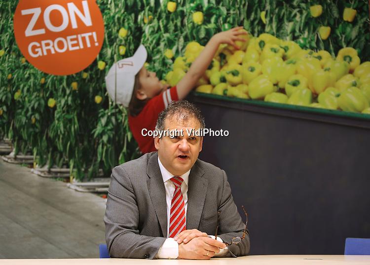 Foto: VidiPhoto<br /> <br /> VENLO - Portret van Gerjo Scheringa, directeur van Veiling ZON (Zuid Oost Nederland) in Venlo.