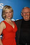Blue Bloods Amy Carlson, Len Cariou - CBS Upfront 2012 at the Tent in Lincoln Center, New York City, New York. (Photo by Sue Coflin/Max Photos)