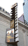 """""""Good People"""" marquee on February 13, 2011 at Manhattan Theatre Club at the Samuel J. Friedman Theatre, New York City, New York. (Photo by Sue Coflin/Max Photos)"""