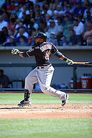 Carlos Santana - Cleveland Indians 2016 spring training (Bill Mitchell)