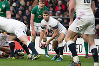 Twickenham, United Kingdom.   Natwest 6 Nations : England vs Ireland. Richard Wigglesworth, at the  RFU Stadium, Twickenham, England, <br />