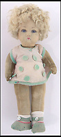 BNPS.co.uk (01202 558833)Pic: Burstow&amp;Hewett/BNPS<br /> <br /> One of the royal children's dolls.<br /> <br /> The Queen's garments given to her by the former royal nurse - Clara Knight<br /> <br /> Five of the Queen's dolls and a selection of her childhood clothes have emerged for sale.<br /> <br /> The garments and toys were given to the former royal nurse Clara Knight who looked after Queen Elizabeth in her early years while the Queen Mother was undertaking ceremonial duties.<br /> <br /> There are approximately 20 garments in the collection including infants dresses and matching undergarments, many in silks and linen and some in early man made fabrics.