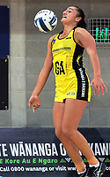 Tiana Metuarau in action during the ANZ Premiership netball match between the Central Pulse and Northern Stars at Te Rauparaha Arena in Wellington, New Zealand on Wednesday, 24 May 2017. Photo: Dave Lintott / lintottphoto.co.nz