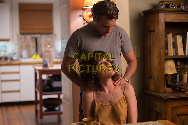 Joaquin Phoenix, Parker Posey<br /> in Irrational Man (2015) <br /> *Filmstill - Editorial Use Only*<br /> CAP/NFS<br /> Image supplied by Capital Pictures