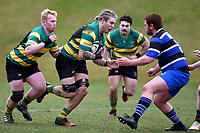 Sean Jansen in action during the Otago premier club rugby union match between Kaikorai and Green Island at Bishopscourt Park in Dunedin, New Zealand on Saturday, 4 July 2020. Photo: Joe Allison / lintottphoto.co.nz