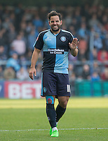 Sam Wood of Wycombe Wanderers during the Sky Bet League 2 match between Wycombe Wanderers and Northampton Town at Adams Park, High Wycombe, England on 3 October 2015. Photo by Andy Rowland.