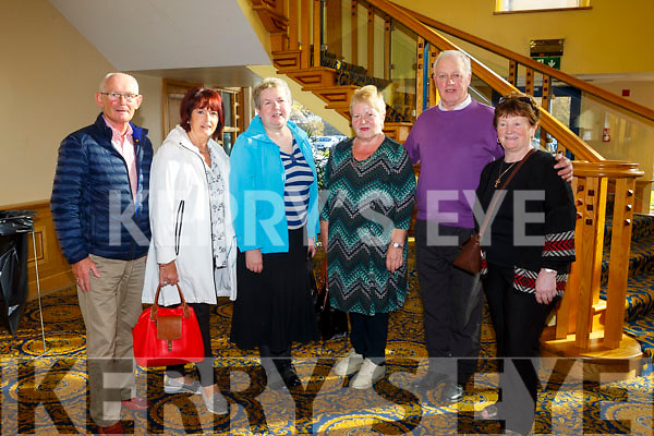At RTE's Live line with  Joe Duffy, funny Friday at the Brandon Hotel on Friday were Sean O'Neil, Catriona O Neill, Maureen Dillan, Maureen Dillane, Joan Curtin, Tom Dillane and Marion Gaynor