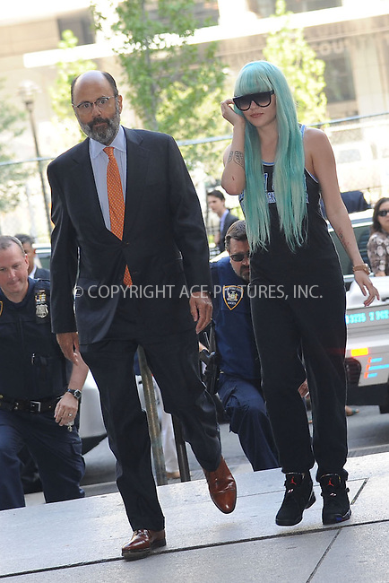 WWW.ACEPIXS.COM<br /> July 9, 2013 New York City<br /> <br /> Amanda Bynes arrives to Manhattan Criminal Court in New York City on July 9, 2013.<br /> By Line: Kristin Callahan/ACE Pictures<br /> ACE Pictures, Inc.<br /> tel: 646 769 0430<br /> Email: info@acepixs.com<br /> www.acepixs.com<br /> Copyright:<br /> Kristin Callahan/ACE Pictures