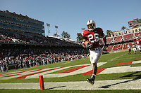 18 November 2006: Anthony Kimble during Stanford's 30-7 loss to Oregon State at Stanford Stadium in Stanford, CA.