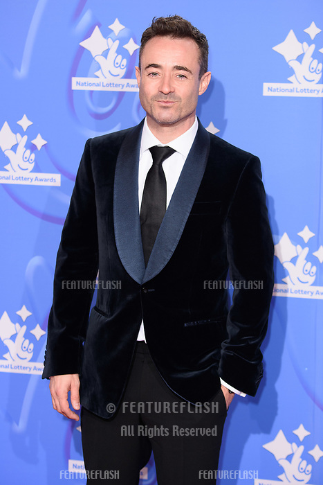 LONDON, UK. September 21, 2018: Joe McFadden at the National Lottery Awards 2018 at the BBC Television Centre, London.<br /> Picture: Steve Vas/Featureflash
