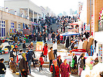 A busy day at Siyoh Bazar, Samarkand