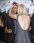 Dev Patel and Alison Pill at The Season 2 Premiere of The HBO Series The Newsroom held at Paramount Studios in Los Angeles, California on July 10,2013                                                                   Copyright 2013 Hollywood Press Agency