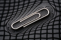 PAPER CLIP FLOATING ON WATER<br />