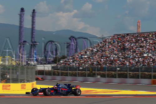 April 30th 2017, Sochi, Russia;  FIA Formula One World Championship 2017, Grand Prix of Russia, <br /> #55 Carlos Sainz (ESP, Scuderia Toro Rosso)