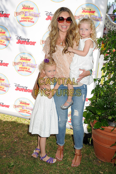16 August 2014 - Pasadena, California - Rebecca Gayheart. Disney Junior's &quot;Pirate and Princess: Power of Doing Good&quot; Tour held at Brookside Park.  <br /> CAP/ADM/BP<br /> &copy;Byron Purvis/AdMedia/Capital Pictures