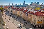 Krakowskie Przedmieście w Warszawie, Polska<br /> Krakowskie Przedmieście in Warsaw, Poland