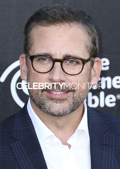 HOLLYWOOD, LOS ANGELES, CA, USA - OCTOBER 06: Steve Carell arrives at the World Premiere Of Disney's 'Alexander And The Terrible, Horrible, No Good, Very Bad Day' held at the El Capitan Theatre on October 6, 2014 in Hollywood, Los Angeles, California, United States. (Photo by Xavier Collin/Celebrity Monitor)