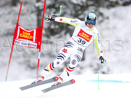 15 12 2011   Ski Alpine FIS World Cup Downhill Training for men Picture shows Andreas Sander ger