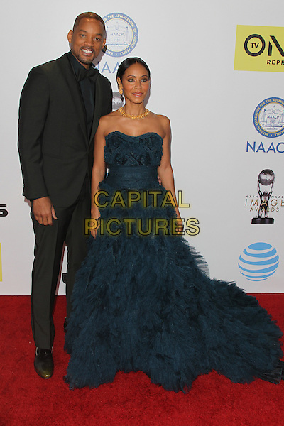 PASADENA, CA - FEBRUARY 5: Will Smith and Jada Pinkett Smith at the 47th NAACP Image Awards presented by TV One at Pasadena Civic Auditorium on February 5, 2016 in Pasadena, California. <br /> CAP/MPI25<br /> &copy;MPI25/Capital Pictures