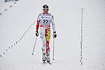 HOLMENKOLLEN, OSLO, NORWAY - March 16: Devon Kershaw of Canada (CAN) after the Men 50 km mass start, free technique, at the FIS Cross Country World Cup on March 16, 2013 in Oslo, Norway. (Photo by Dirk Markgraf)