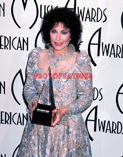 Loretta Lynn 1985 American Music Awards.© Chris Walter.