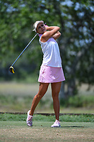 Lexi Thompson (USA) watches her tee shot on 5 during round 3 of the 2019 US Women's Open, Charleston Country Club, Charleston, South Carolina,  USA. 6/1/2019.<br /> Picture: Golffile | Ken Murray<br /> <br /> All photo usage must carry mandatory copyright credit (© Golffile | Ken Murray)