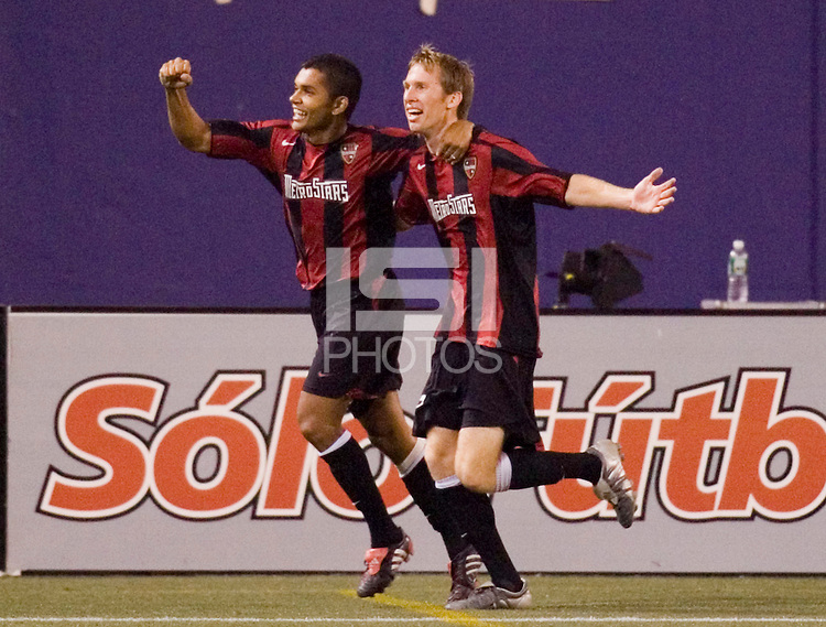 during first half action between the MetroStars and the New England Revolution at Giant's Stadium, East Rutherford, NJ, on September 17, 2005.