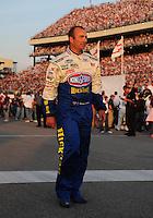 May 2, 2008; Richmond, VA, USA; NASCAR Nationwide Series driver Marcos Ambrose during the Lipton Tea 250 at the Richmond International Raceway. Mandatory Credit: Mark J. Rebilas-