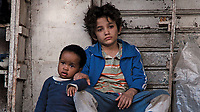 CAPERNAUM (orig title CAPHARNAUM, 2018)<br /> Zain Al Rafeea, Boluwatife Treasure Bankole<br /> *Filmstill - Editorial Use Only*<br /> CAP/FB<br /> Image supplied by Capital Pictures