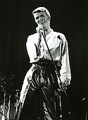 David Bowie - performing live on The Isolar II - The 1978 World  Tour.  Photo credit: MM-Media Archive/IconicPix