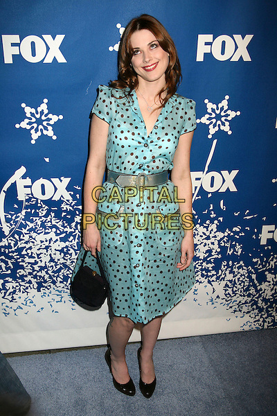 ALEX BRECKENRIDGE.The Fox All-Star Winter 2007 TCA Press Tour Party at Villa Sorriso, Pasadena, California, USA, .20 January 2007..full length green turquoise patterned dress belt.CAP/ADM/BP.©Byron Purvis/AdMedia/Capital Pictures.