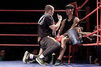 Sheffield Varsity Boxing 2017 Azharul Khan Team Hallam v Min Neo Uni of Sheffield