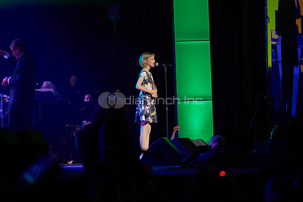 "ST. PAUL, MN JULY 16: Grace VanderWaal performs at the Starkey Hearing Foundation ""So The World May Hear Awards Gala"" on July 16, 2017 in St. Paul, Minnesota. Credit: Tony Nelson/Mediapunch"