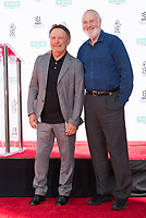 LOS ANGELES, USA. April 12, 2019: Billy Crystal & Rob Reiner at the hand & footprint ceremony honoring Billy Crystal at the TCL Chinese Theatre.<br /> Picture: Paul Smith/Featureflash