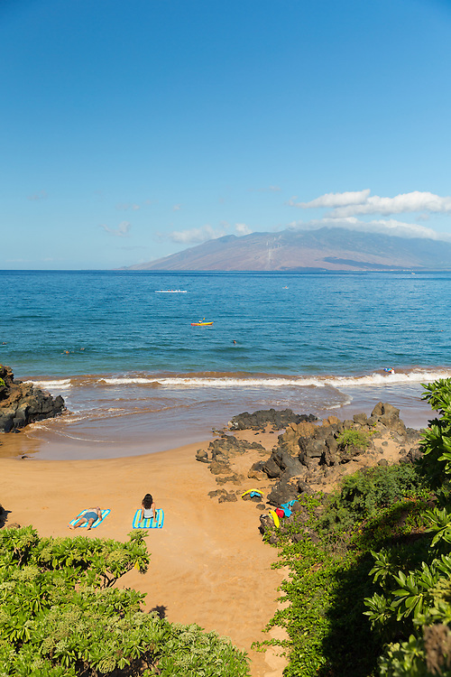Wailea Beach at the Four Seasons Resort Maui at Wailea, Maui, Hawaii, USA