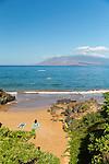 Wailea Beach at the Four Seasons Resort Maui at Wailea, Maui, Hawaii, USA