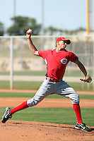 Forest Cannon, Cincinnati Reds 2010 minor league spring training..Photo by:  Bill Mitchell/Four Seam Images.
